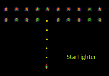 A+ StarFighter Game Project
